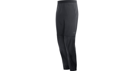 GORE RUNNING WEAR Essential WS Zip-Off Pants Men black